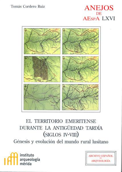 Territorio emeritense durante la antiguedad tardia iv-viii