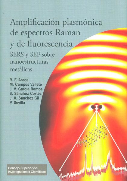 Amplificacion plasmonica de espectros raman y de fluorescen