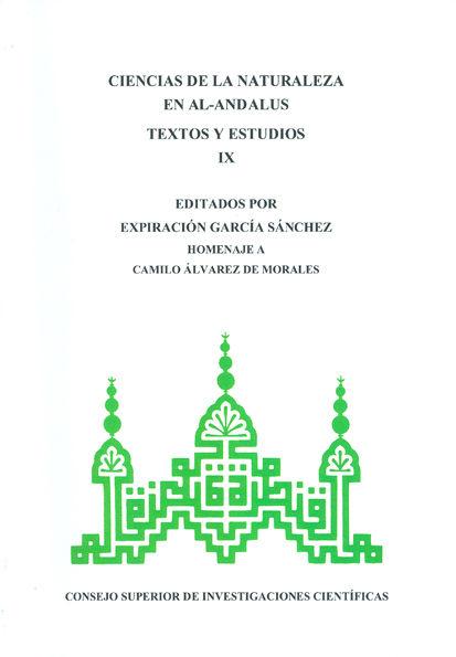 Ciencias naturaleza al andalus ix textos y estudios