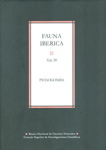 Fauna iberica 39 pycnogonida