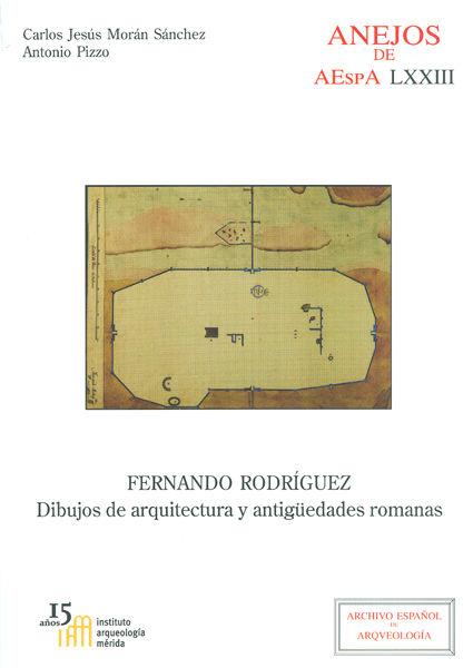 Fernando rodriguez dibujos de arquitectura y antiguedades