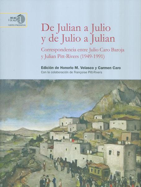 De julian a julio y de julio a julian correspondencia entr