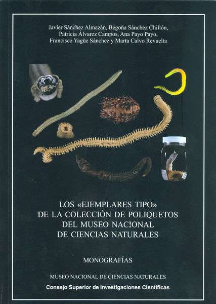 Ejemplares tipo de la coleccion de poliquetos museo naciona