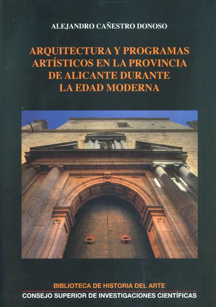 Arquitectura y programas artisticos en la provincia de alic
