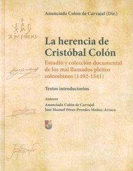 Herencia cristobal colon estudio y coleccion 4 volumenes