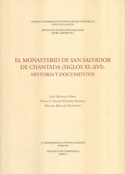 Monasterio de san salvador de chantada (siglos xi-xvi): hist