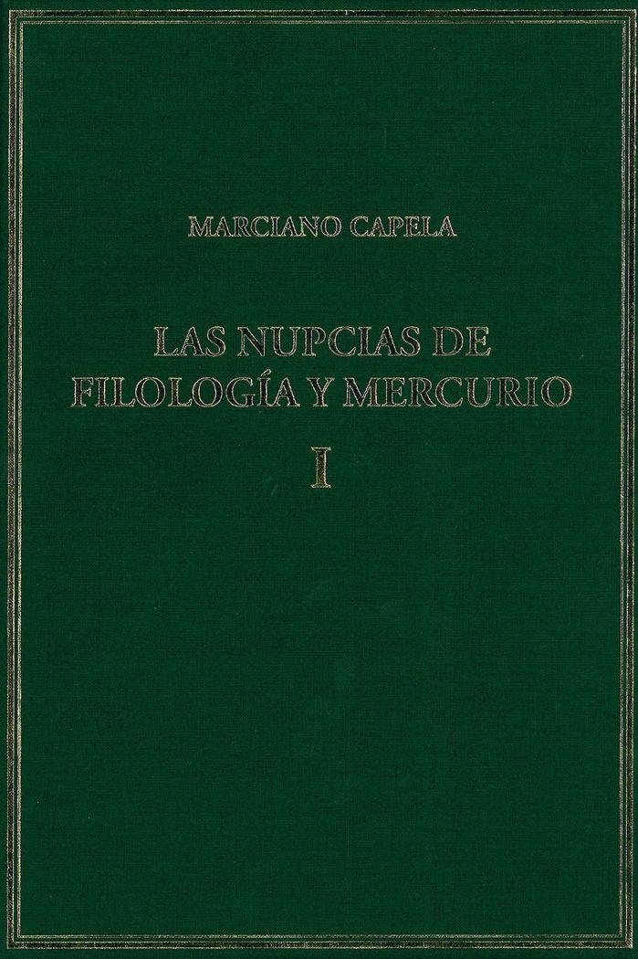 Nupcias de filologia y mercurio vol.i libros i-ii