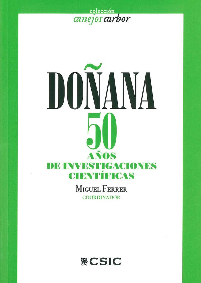 Doñana 50 años de investigaciones cientificas