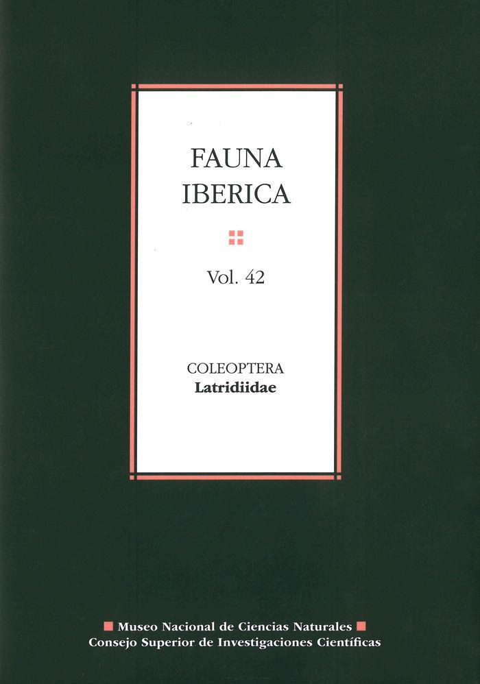 Fauna iberica 42 coleoptera latridiidae