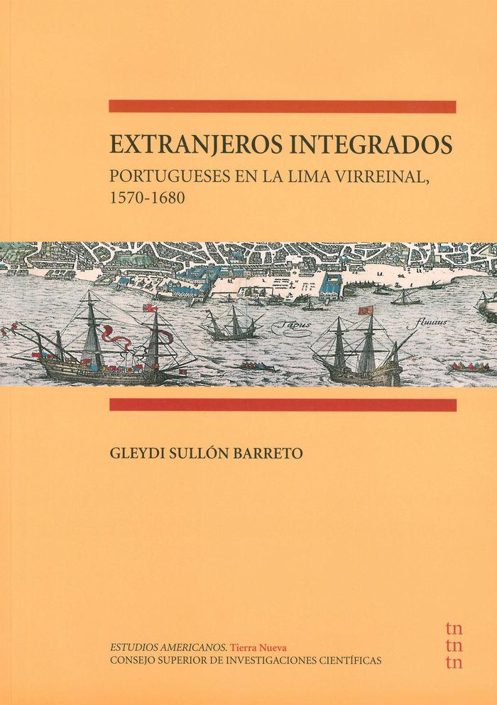 Extranjeros integrados portugueses en la lima virreinal, 1