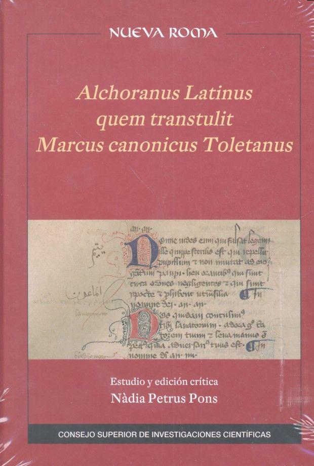 Alchoranus latinus quem transtulit marcus canonicus tole