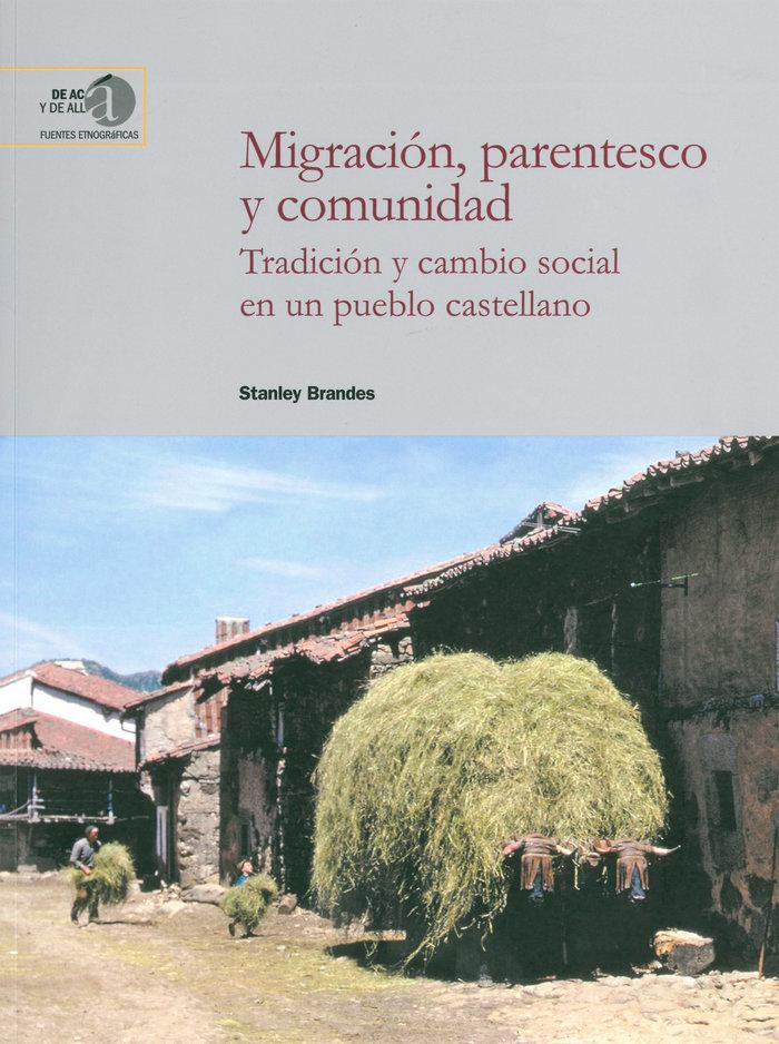 Migracion parentesco y comunidad