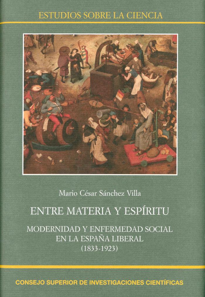Entre materia y espiritu: modernidad y enfermedad social en