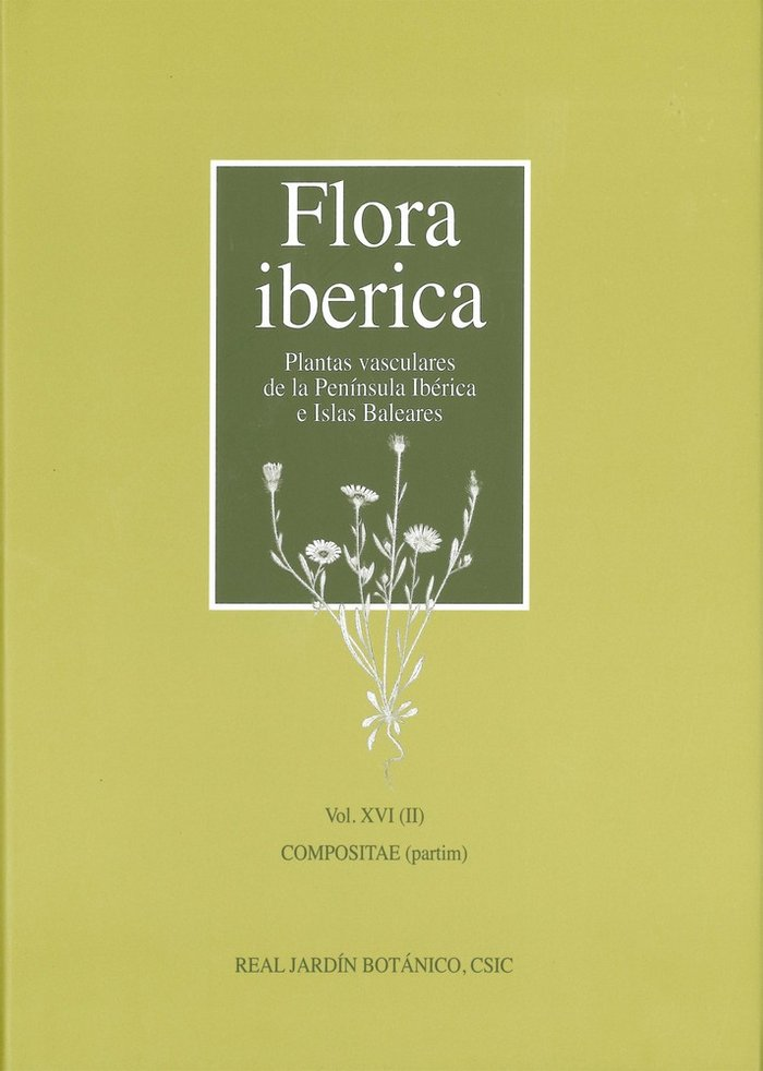 Flora iberica xvi compositae vol.ii