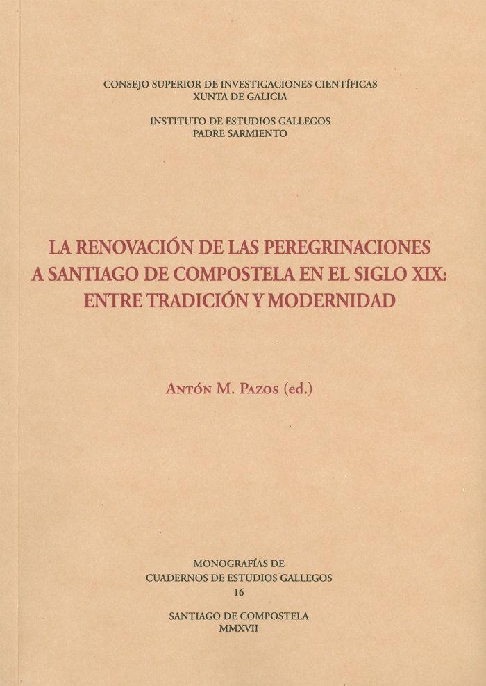 Renovacion de las peregrinaciones a santiago de compostela e