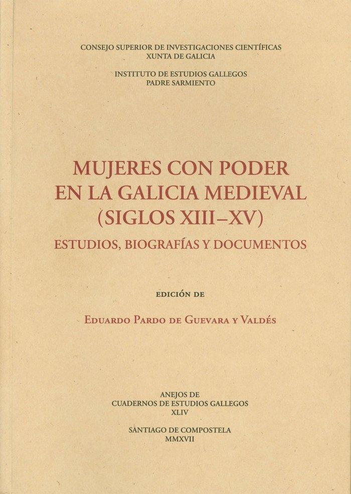 Mujeres con poder en la galicia medieval (siglos xiii-xv): e