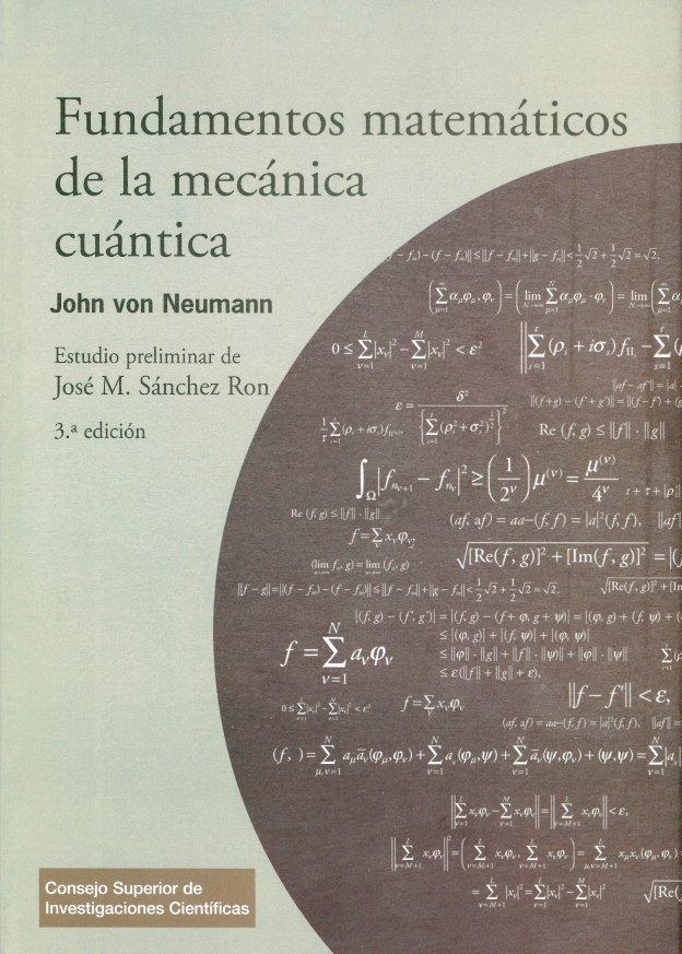 Fundamentos matematicos de la mecanica cuantica