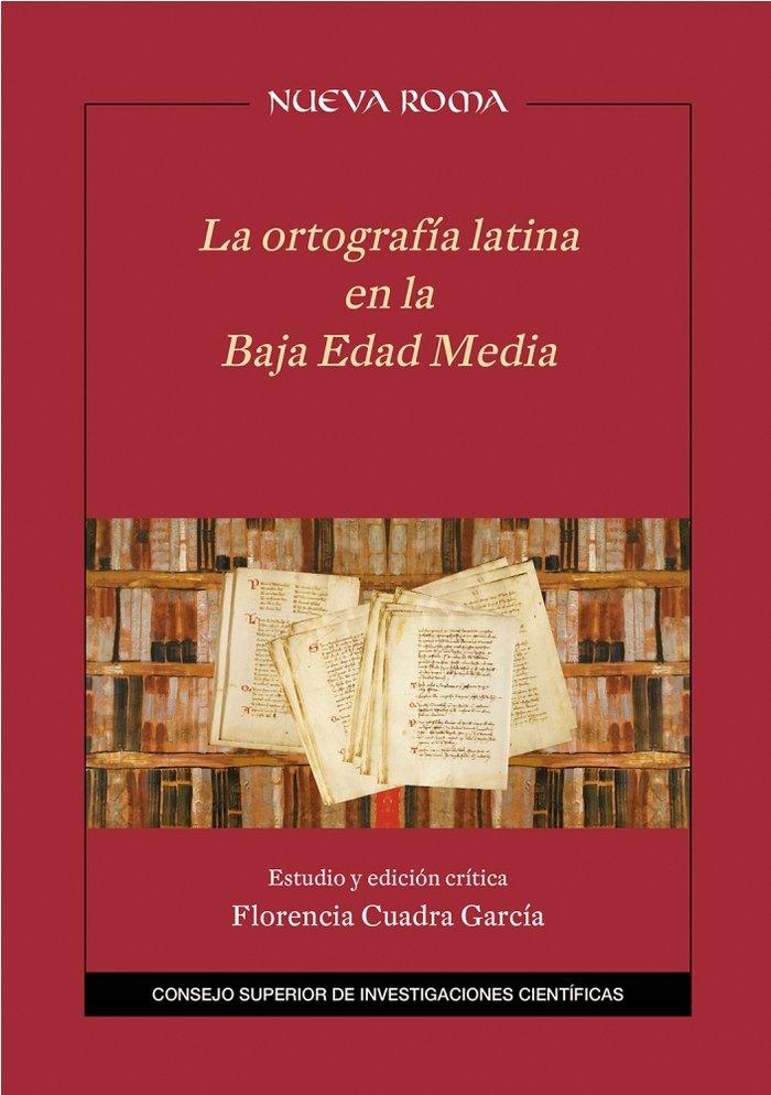 Ortografia latina en la baja edad media,la