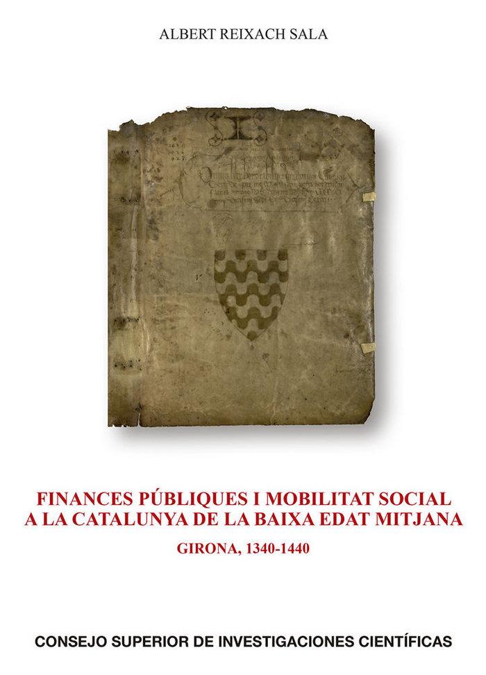 Finances publiques i mobilitat social a la catalunya de la b