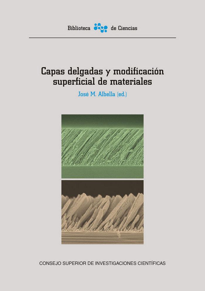 Capas delgadas y modificacion superficial de materiales
