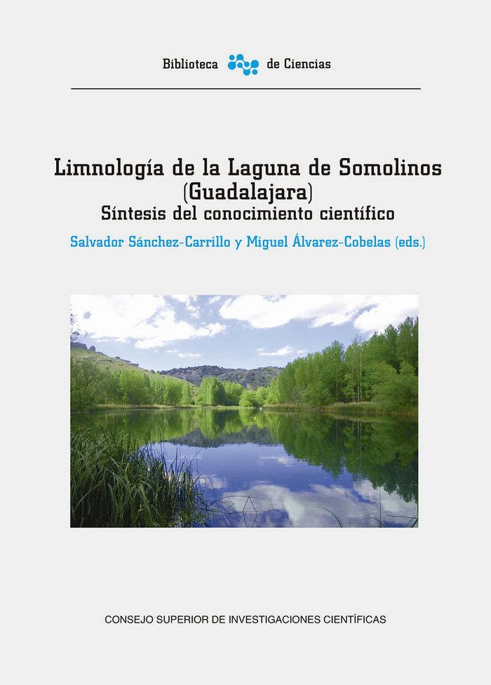 Limnologia de la laguna de somolinos guadalajara: sintesis