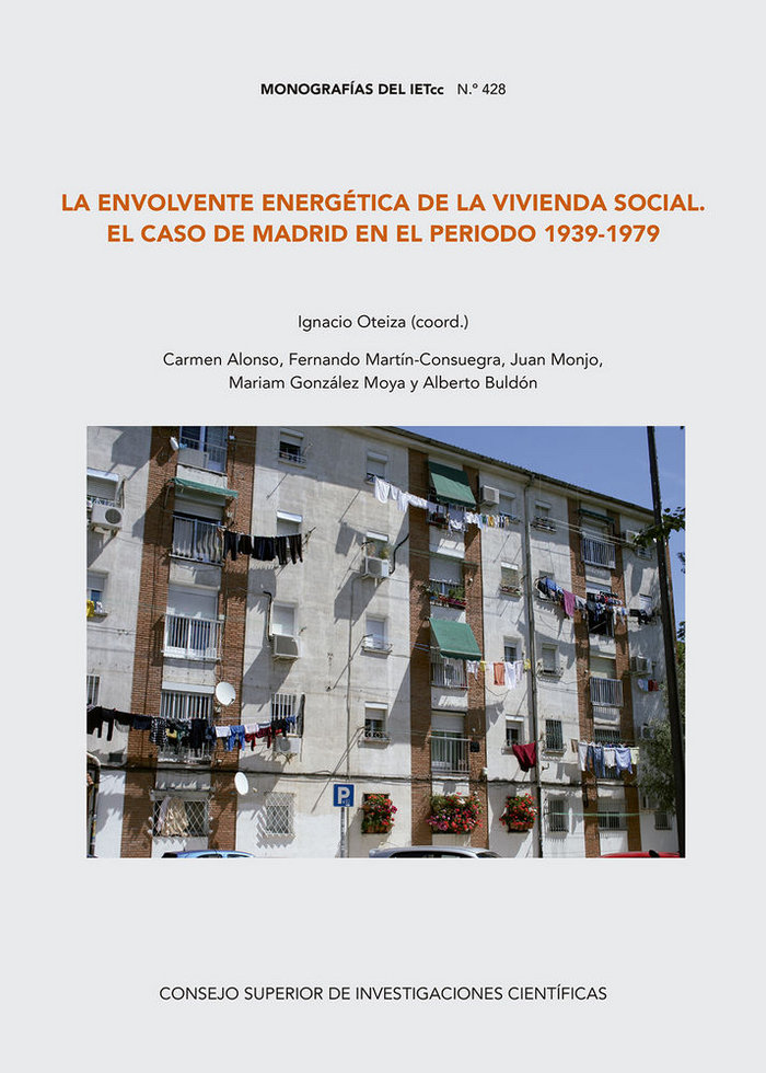 Envolvente energetica de la vivienda social en el caso de ma