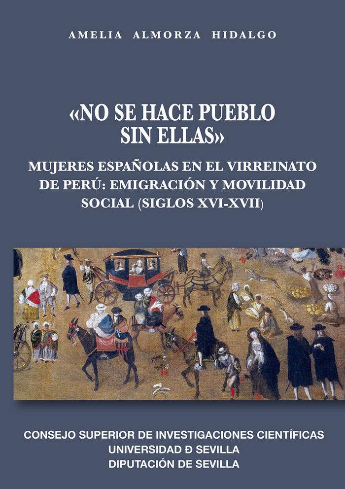 No se hace pueblo sin ellas: mujeres españolas en el virrei
