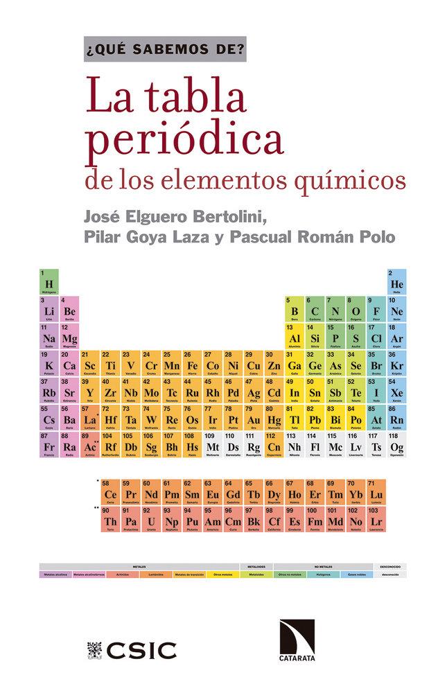 La tabla periodica de los elementos quimicos