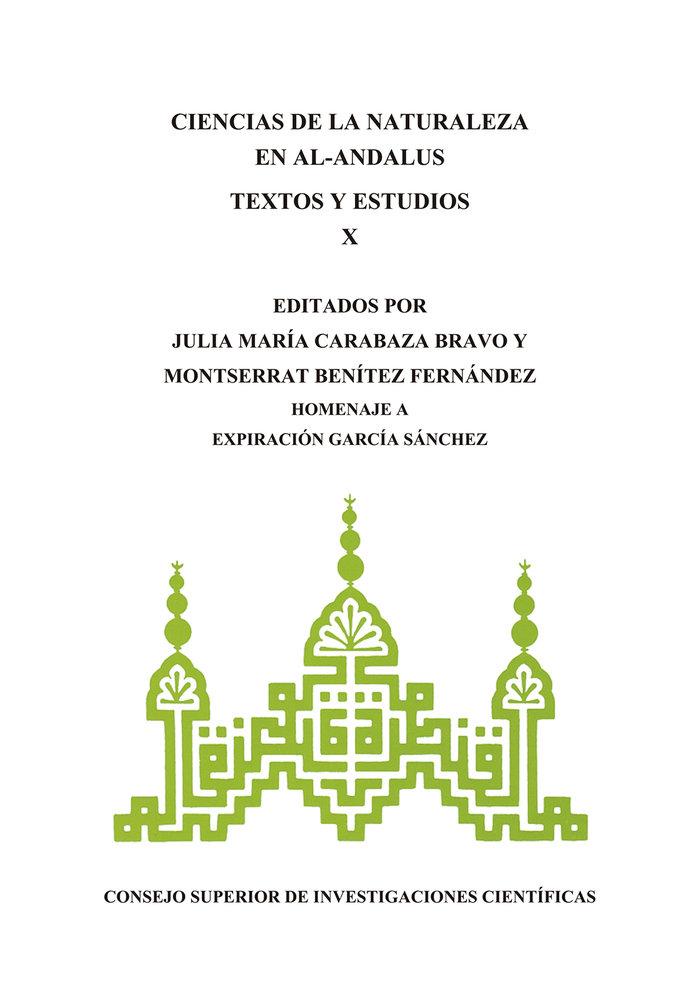 Ciencias de la naturaleza en al-andalus textos y estudios