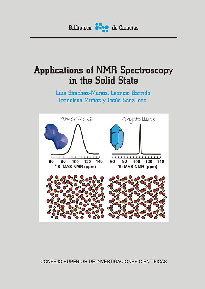 Applications of nmr spectroscopy in the solid state