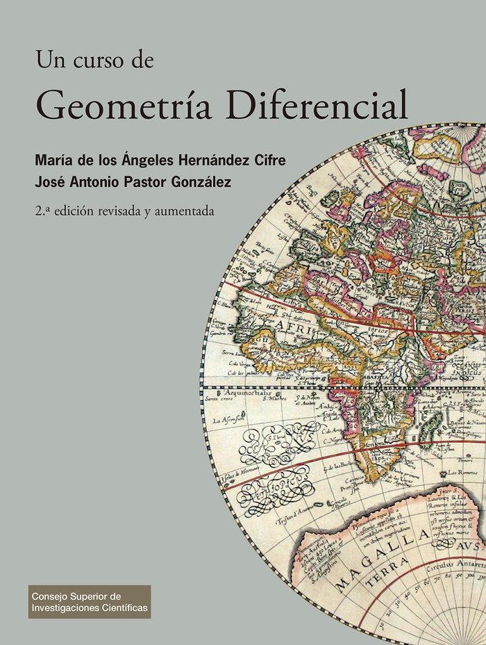 Un curso de geometria diferencial : teoria, problemas, soluc