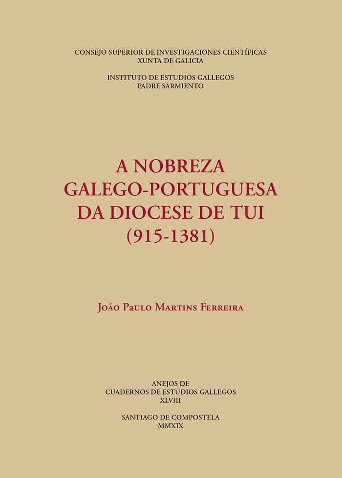 A nobreza galego portuguesa da diocese de tui 915 1381