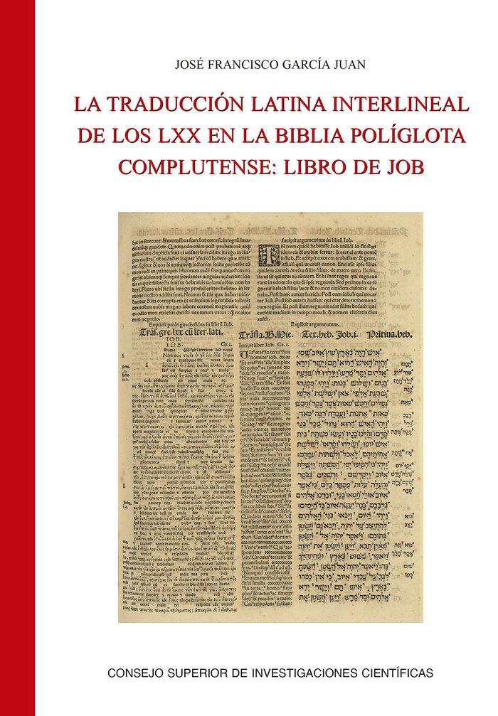 Traduccion latina interlineal de los,la