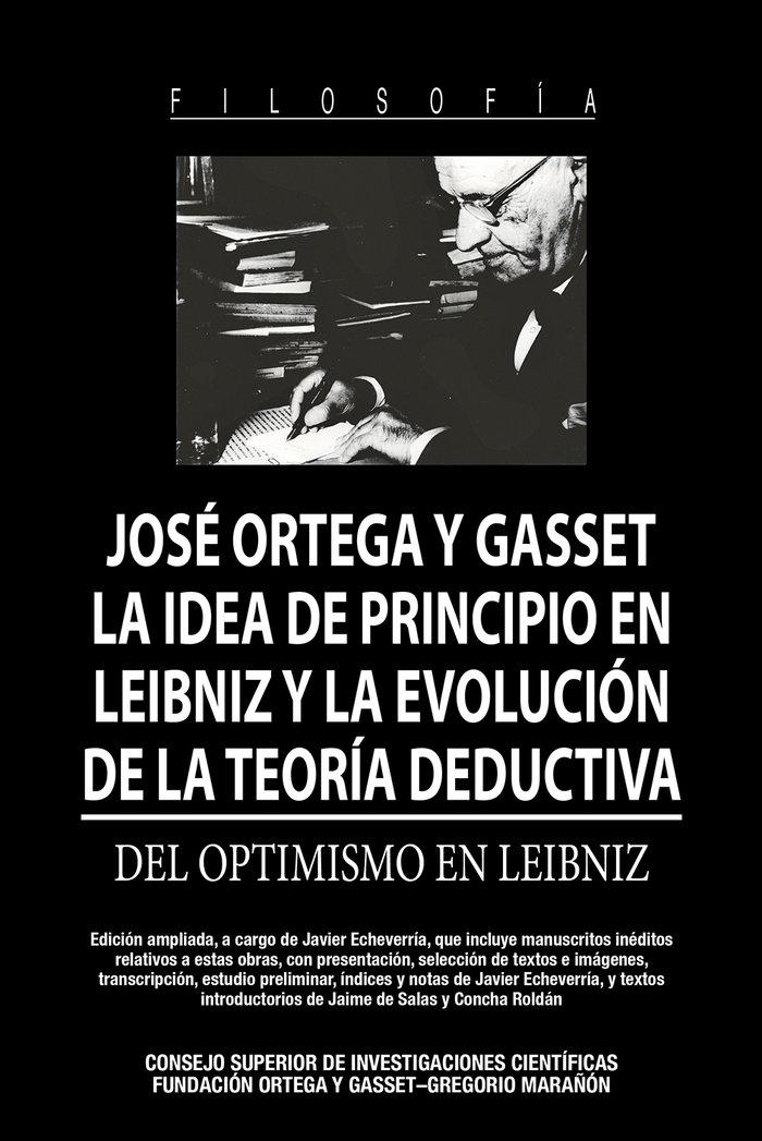La idea de principio en leibniz y la evolucion de la teoria