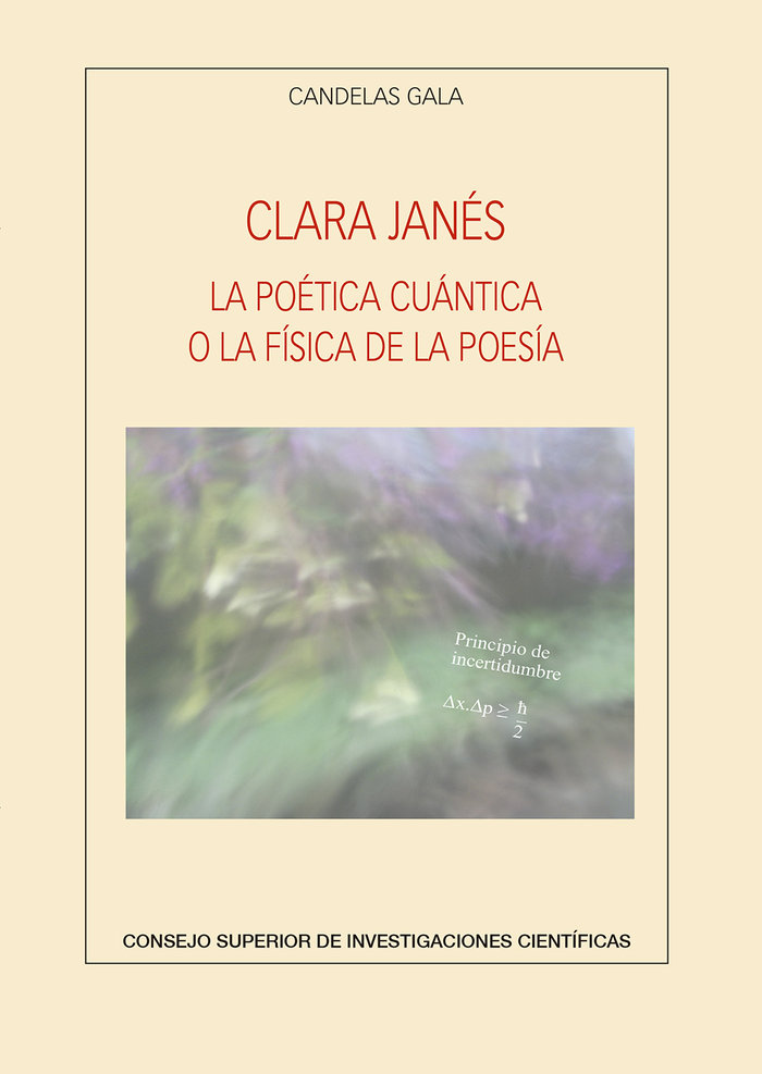 Clara janes la poetica cuantica o la fisic