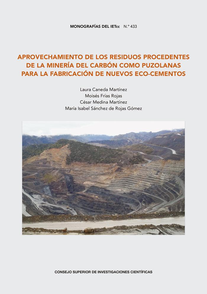 Aprovechamiento de residuos procedentes mineria del carbon