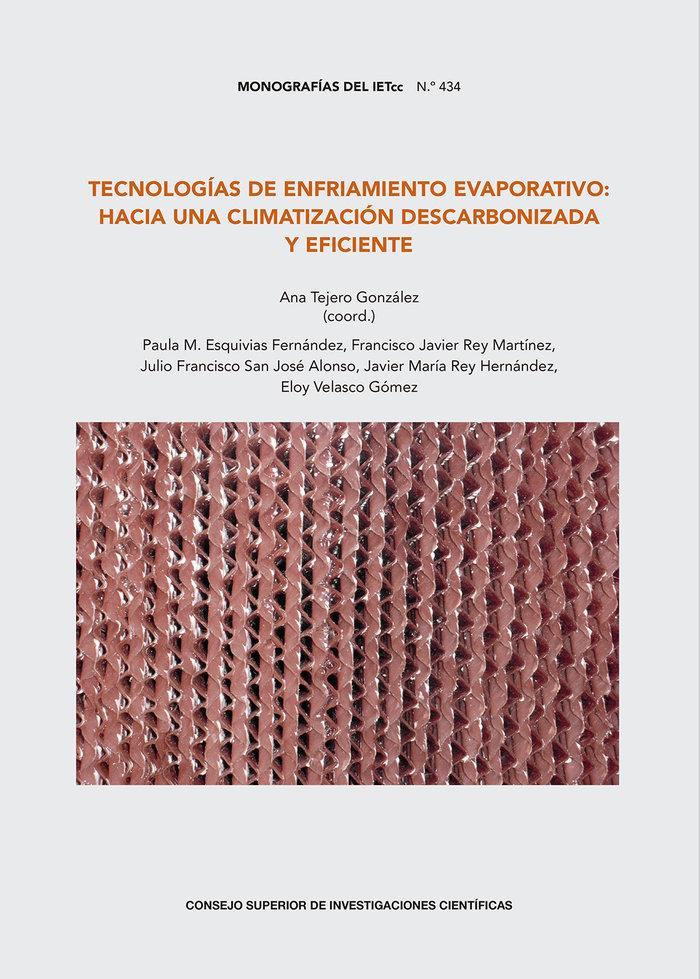 Tecnologias de enfriamiento evaporativo