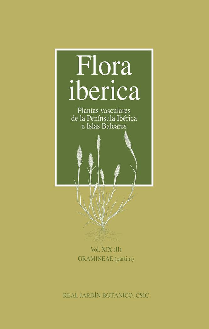 Flora iberica vol xix ii gramineae partim