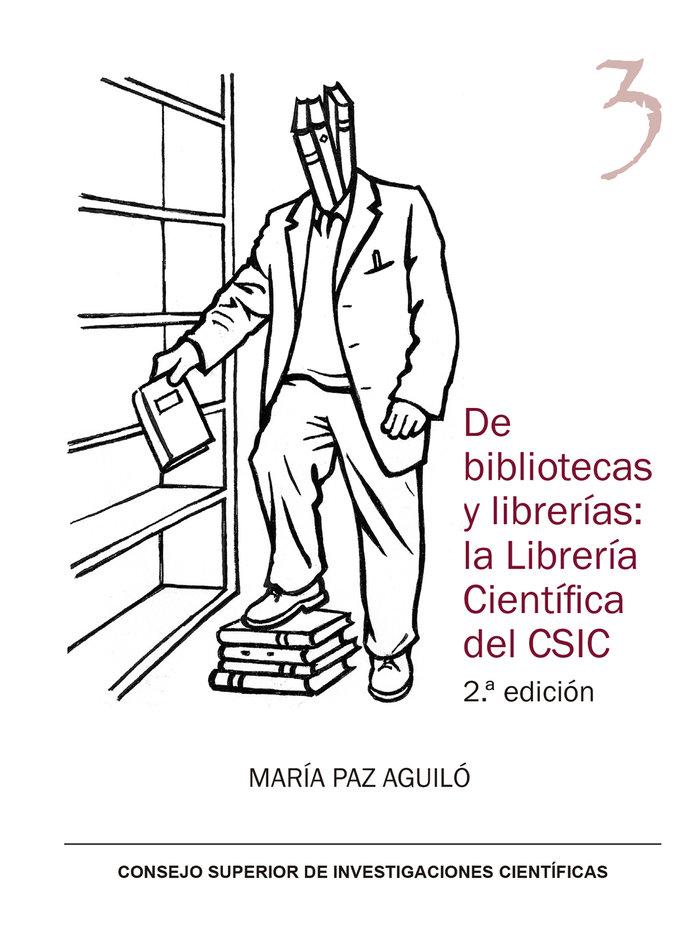De bibliotecas y librerias la libreria cientifica del csic