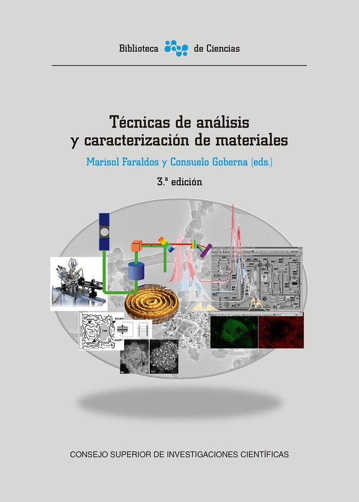 Tecnicas de analisis y caracterizacion de materiales (3ª ed.