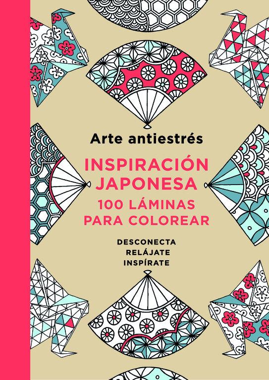 Arte antiestres inspiracion japonesa 100 laminas para color