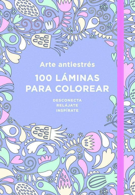 Arte antiestres 100 laminas para colorear