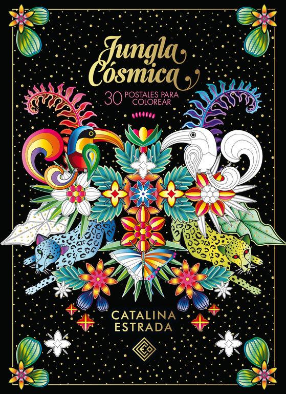 Jungla cosmica 30 postales para colorear