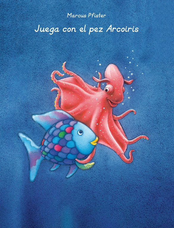 Juega con el pez arcoiris