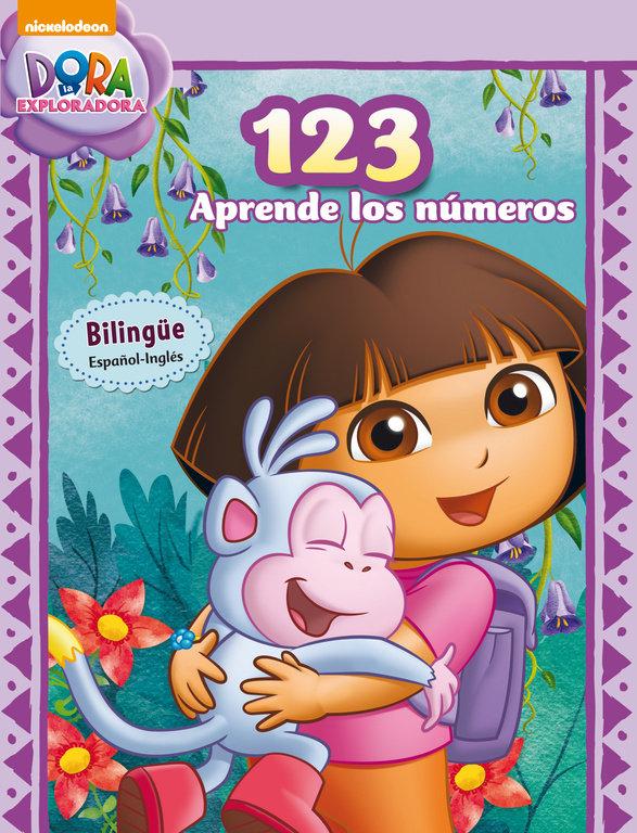 Dora 123 aprende los numeros