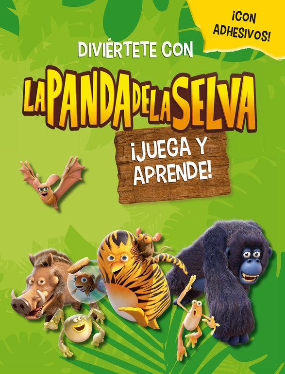 Panda de la selva 1 juega y aprende