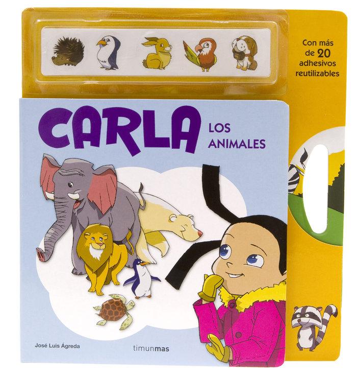 Carla adhesivos los animales