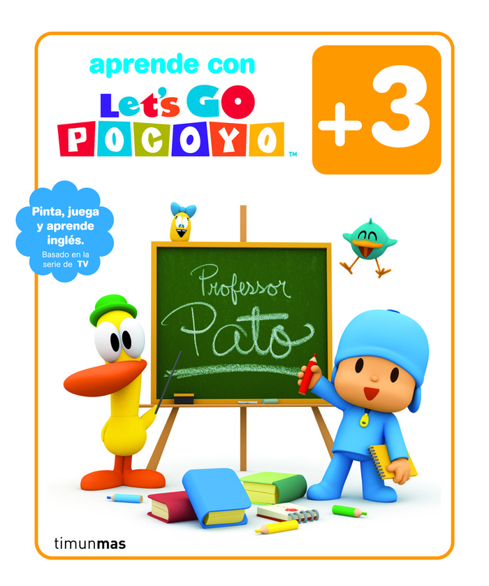 Pocoyo let's go +3años actividades