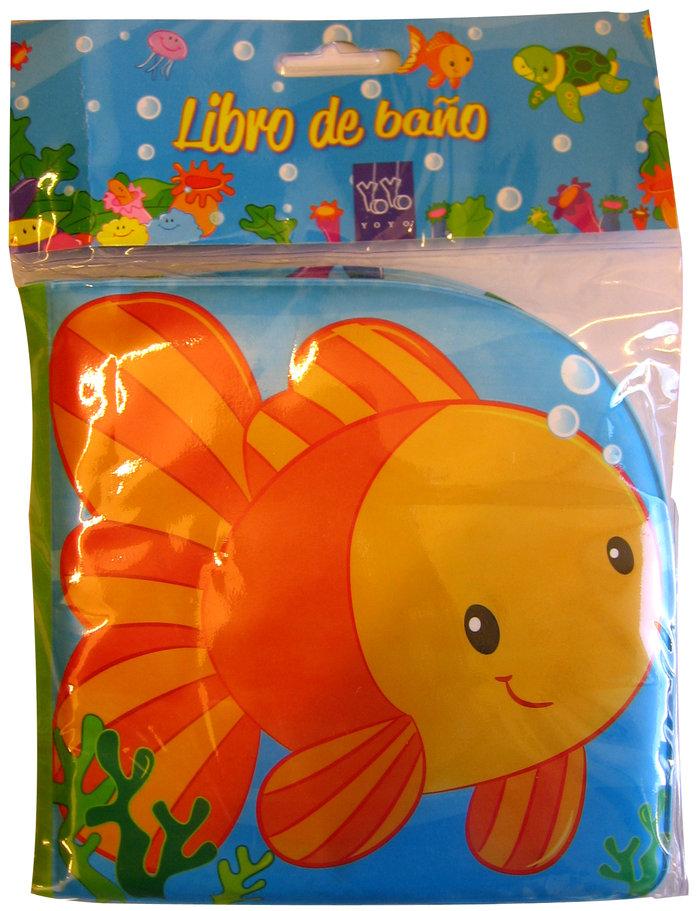 Libro baÑo 1 pez