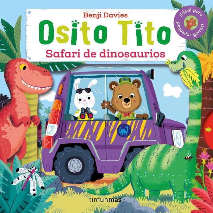 Osito tito safari de dinosaurios